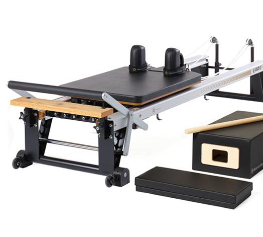A reformer, the primary equipment used at Club Supercore, Stellenbosch
