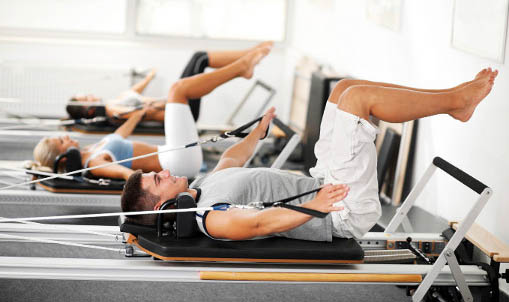 Reformer Pilates fitness classes