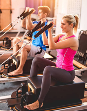 Reformer training is good for posture